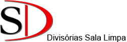 Logotipo SD Divisórias Sala Limpa